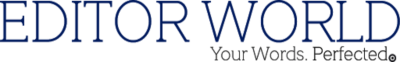 Editor World Proofreading & Editing Services Logo